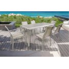 Renava Diego Outdoor Grey Dining Table Set Product Image
