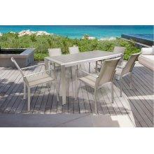 Renava Diego Outdoor Grey Dining Table Set