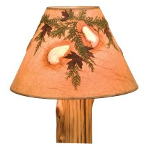 Lamp Shade (Agates and Foliage) - Extra Large