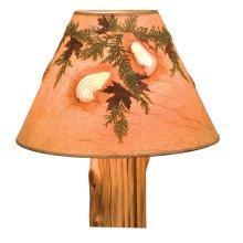 Lamp Shade (Agates and Foliage) - Large