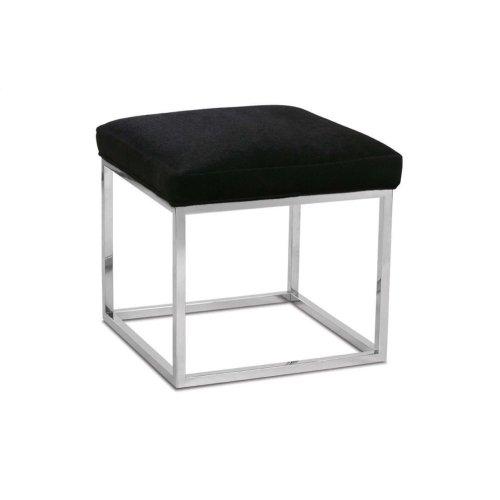Awesome Rowe Furniture Percy Ottoman Chrome In In Carthage Tn Inzonedesignstudio Interior Chair Design Inzonedesignstudiocom