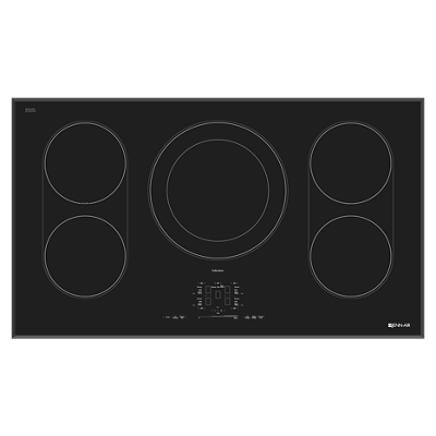 Jenn Air Black Floating Gl 36 Induction Cooktop