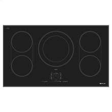 "Black Floating Glass 36"" Induction Cooktop"