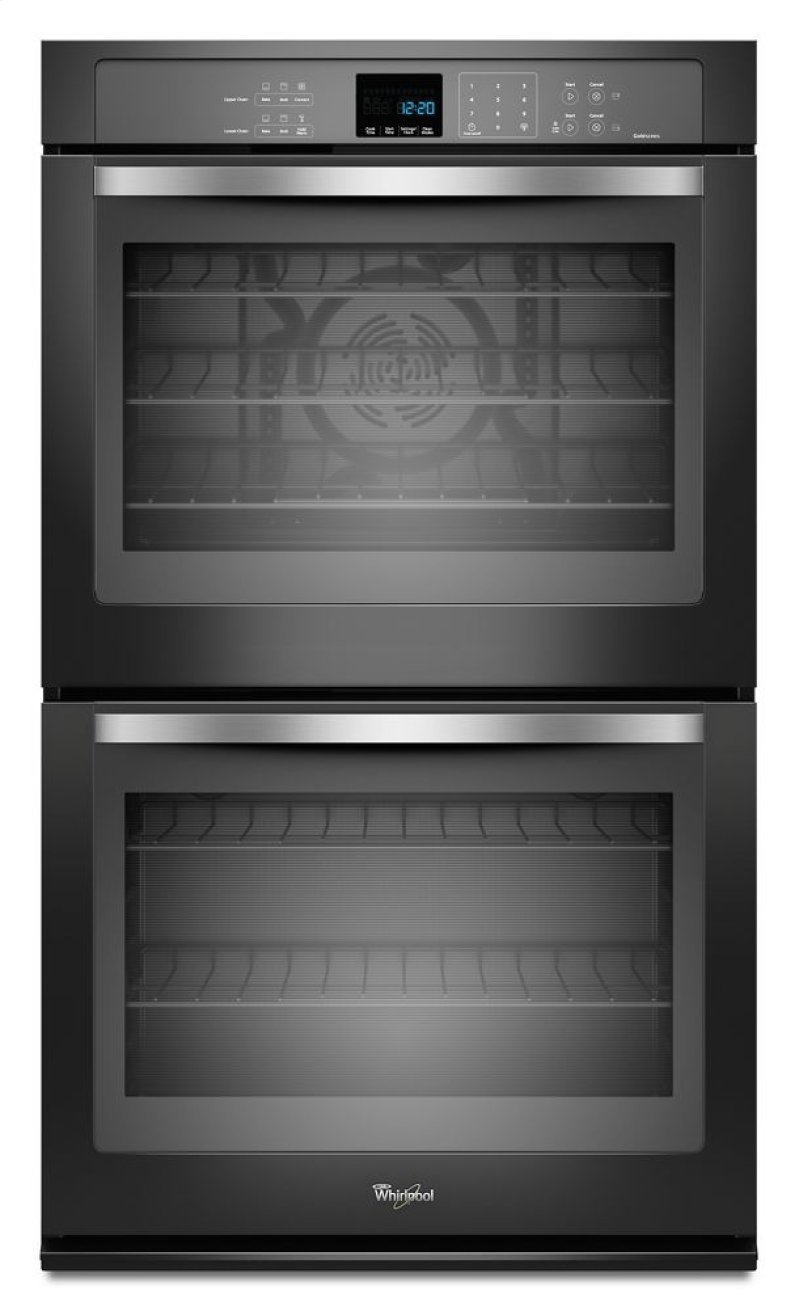 Whirlpool Wod93ec0ae Gold 174 10 Cu Ft Double Wall Oven