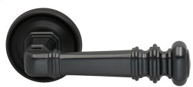 Interior Traditional Lever Latchset in (US10B Oil-rubbed Bronze, Lacquered)
