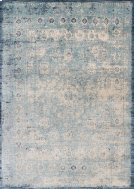 Lt. Blue / Ivory Rug Product Image