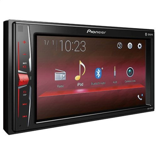 "Digital Multimedia Video Receiver with 6.2"" WVGA Display, and Built-in Bluetooth®"