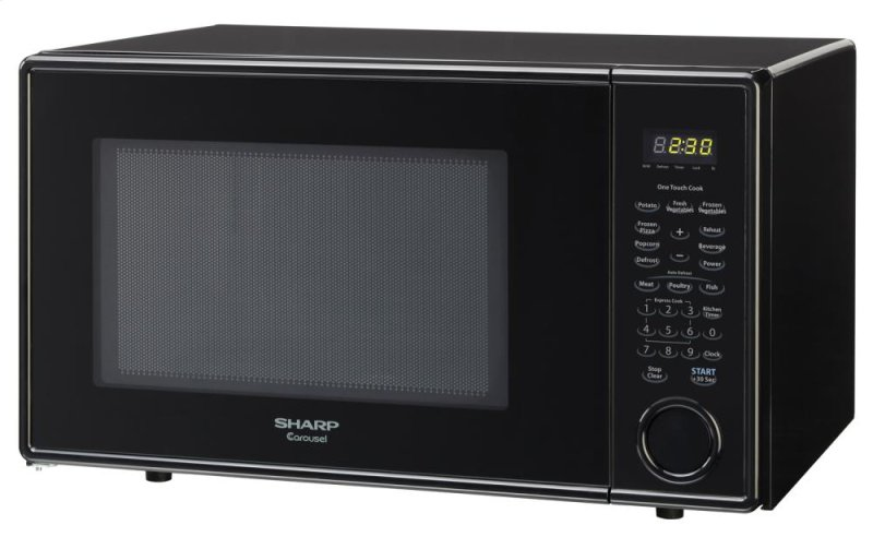 Wolf Countertop Oven Discount : ... NJ - Sharp Carousel Countertop Microwave Oven 1.1 cu. ft. 1000W Black