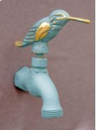 Verdi French Country Hose Bibb Faucets Brass / Hummingbird Product Image