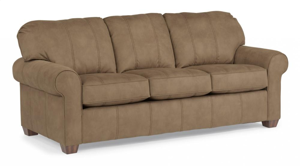 Thornton NuvoLeather Three Cushion Sofa