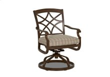 Trisha Yearwood Outdoor Swivel Rocking Dining Chair