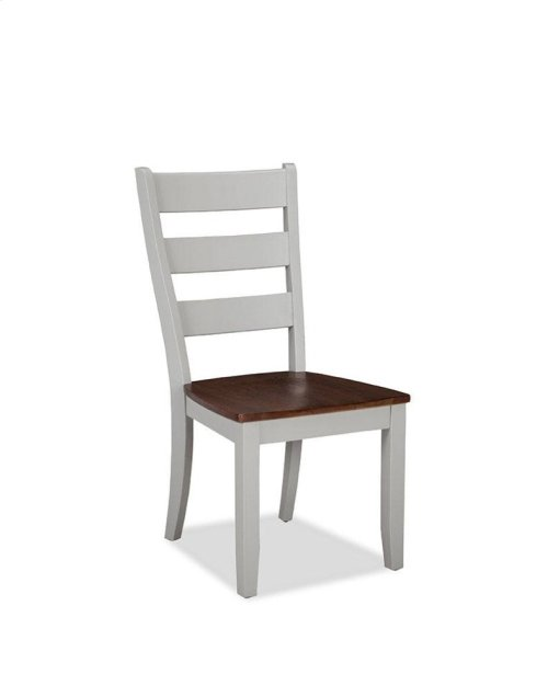 Small Space Ladder Back Side Chair