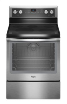 "Whirlpool® 6.2 cu. ft. Capacity Electric Range with 12""/9""/6"" Triple Radiant Element"