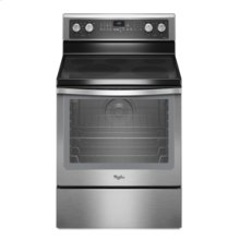 """Whirlpool® 6.2 cu. ft. Capacity Electric Range with 12""""/9""""/6"""" Triple Radiant Element"""