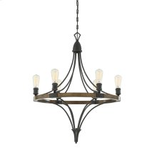 Turing 6 Light Chandelier