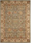 Lumiere Ki602 Slate Blue Rectangle Rug 5'3'' X 7'5''