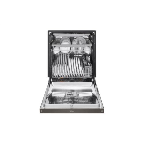Front Control Smart wi-fi Enabled Dishwasher with QuadWash