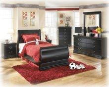 Twin Sleigh Bed (Headboard, Footboard, and Rails)