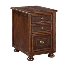 Villa Valencia Storage End Table