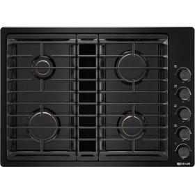 "30"" JX3™ Gas Downdraft Cooktop, Black"