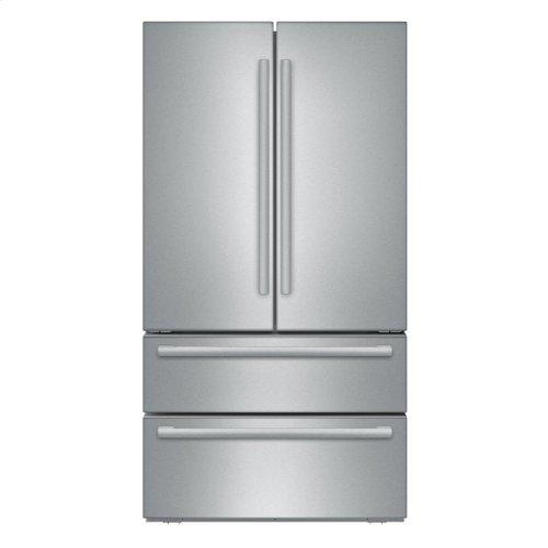 36 inch Counter Depth French Door Bottom Freezer 800 Series - Stainless Steel (Scratch & Dent)