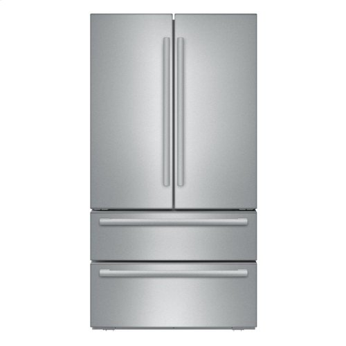 36 inch Counter Depth French Door Bottom Freezer 800 Series - Stainless Steel (Scratch & Dent)