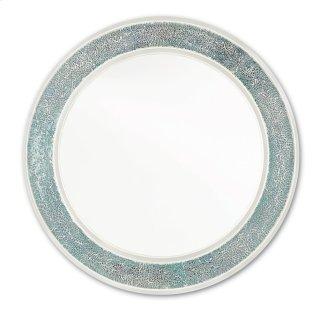Mermaid Glass Mirror - 30h x 30w x 1.875d