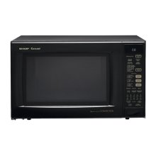 Sharp Carousel Countertop Convection + Microwave Oven 1.5 cu. ft. 900W Black