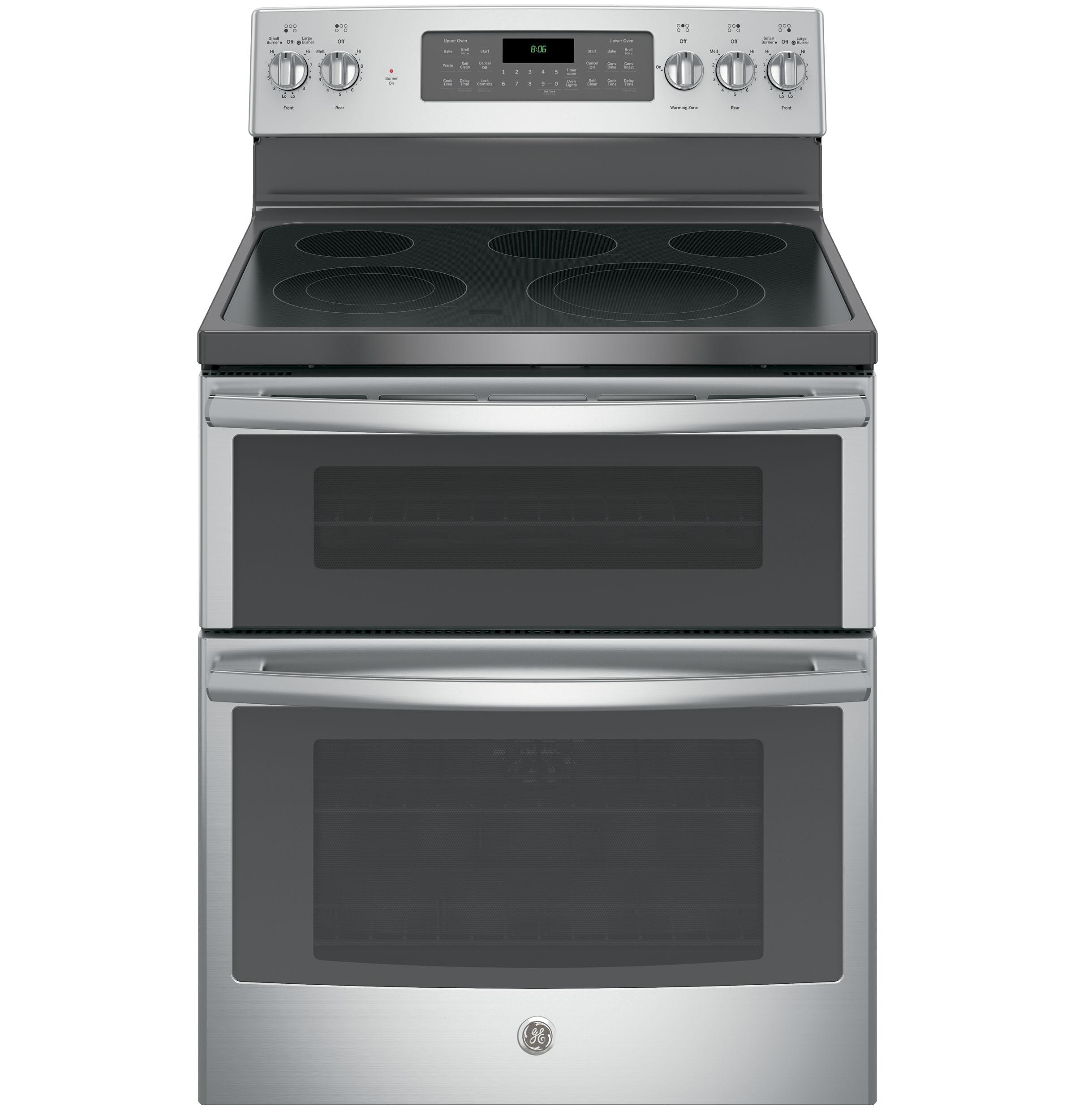 "GE(R) 30"" Free-Standing Electric Double Oven Convection Range