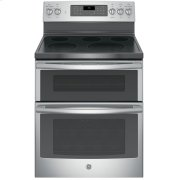 """GE® 30"""" Free-Standing Electric Double Oven Convection Range Product Image"""