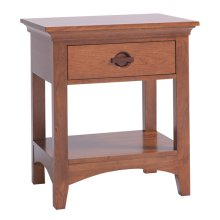 Great Lakes 1-Drawer Nighstand