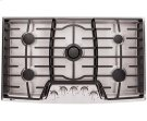 36 Gas Cooktop with the Professional Look of Stainless Steel Product Image