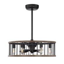 Kona 8 Light Fan D'lier
