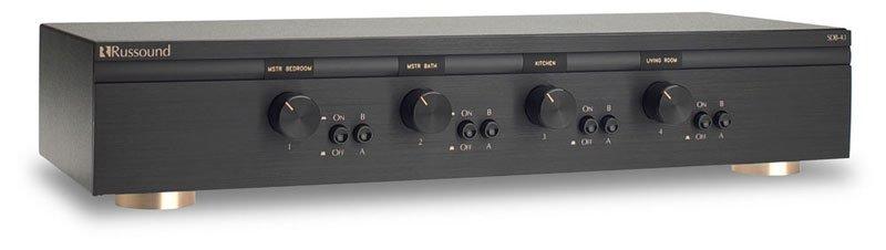 SDB-4.1 4 Pair, Dual Source Speaker Selectors with Volume Control