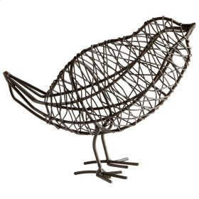 Lg Bird On a Wire Sclptre