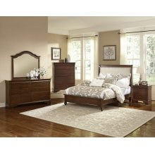 Upholstered Bed (available in twin or full)