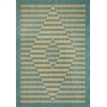 Villa Neutral/aqua 1633 Rug