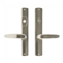 """Convex Multi-Point Entry Set - 1 3/4"""" x 11"""" Silicon Bronze Brushed"""