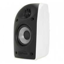 "Blackstone TL Series compact satellite speaker with 2 1/2"" driver and 1/2"" tweeter in White"