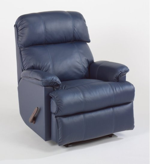 Geneva Leather Rocking Recliner