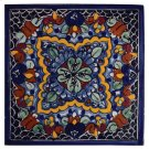 "4"" Quatrefoil Decorative Talavera Tiles Product Image"