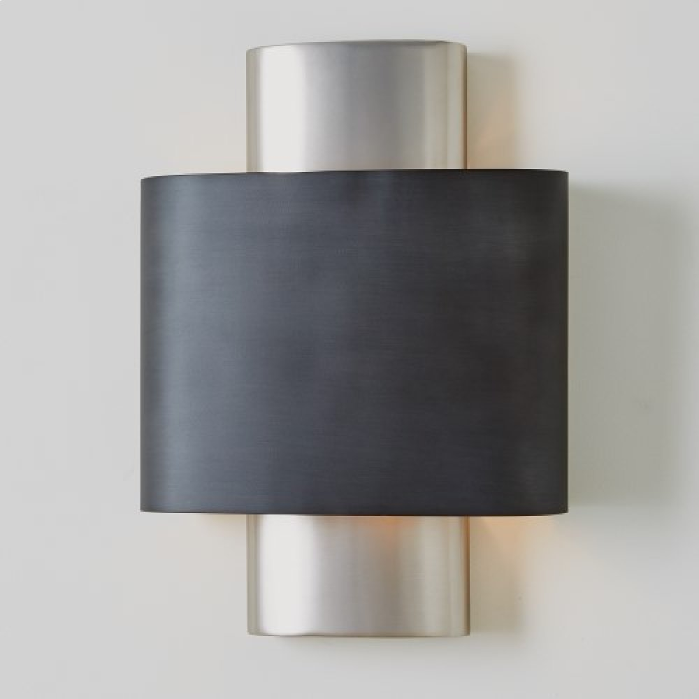 Nordic Wall Sconce-Antique Nickel-HW