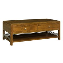 Sunset Hills 2 drawer cocktail table