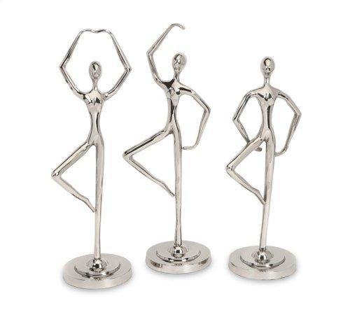 Zabrina Dancing Statuaries - Ast 3