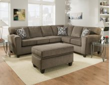 3100 - Cornell Pewter Sectional