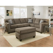 3100 - Cornell Pewter Sectional 2-Piece Sectional