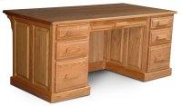 """Classic Executive Desk, Classic Executive Desk, 72"""" Product Image"""