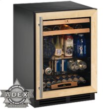 "Overlay frame Field reversible 2000 Series / 24"" Beverage Center / Single Zone Convection Cooling System"