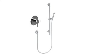 Contemporary Pressure Balancing Shower w/ Handshower