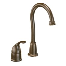 Camerist oil rubbed bronze one-handle bar faucet